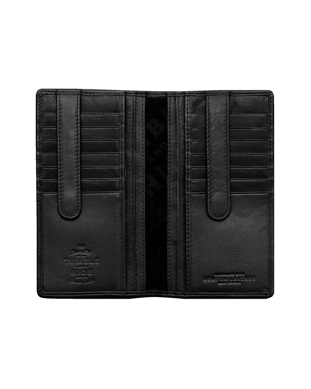 Traditional Black Jacket Wallet