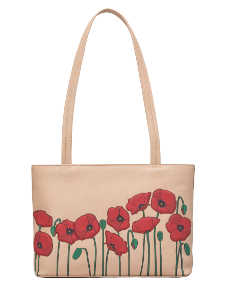 Poppy Fields Shoulder Bag