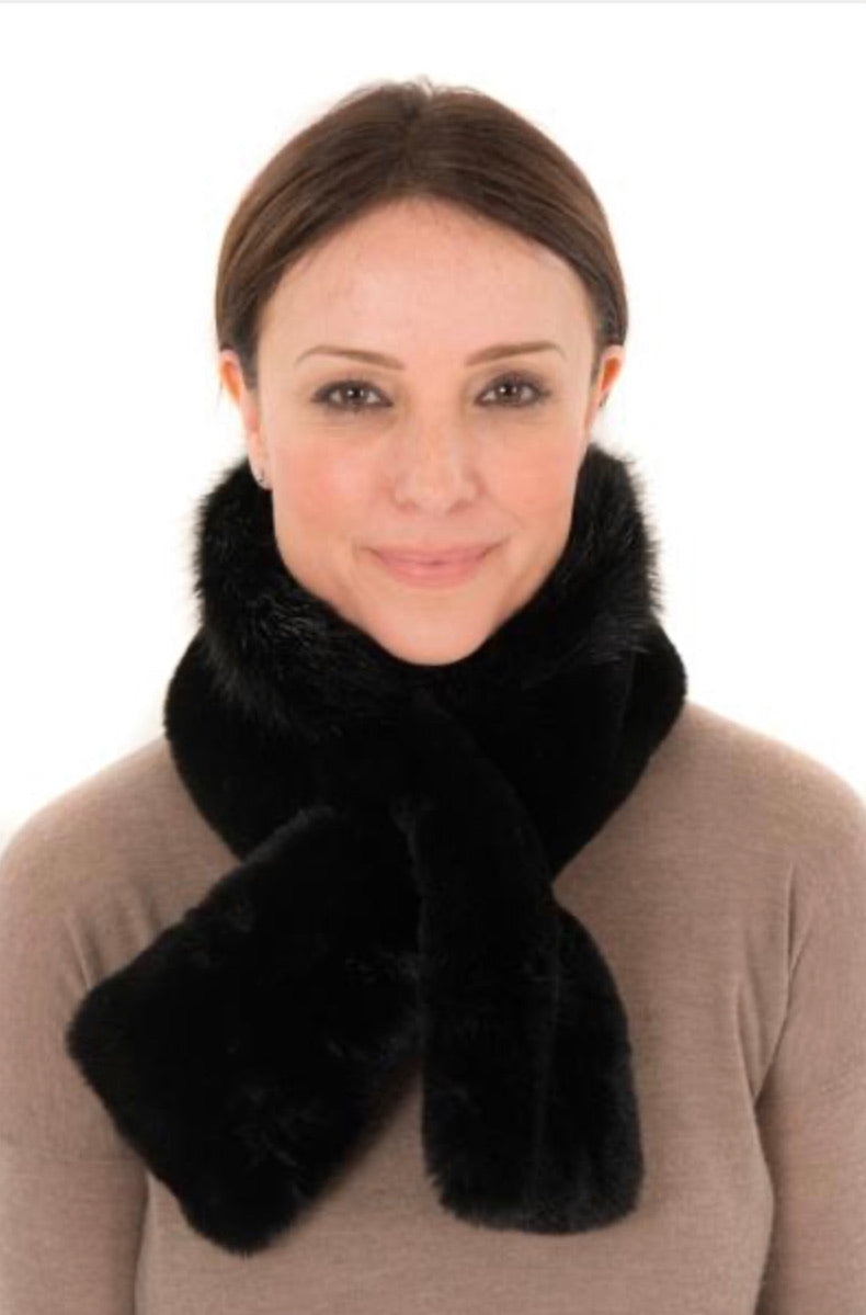 Neck Scarf FB22 Black