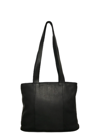 Black Leather Tote Bag 286700