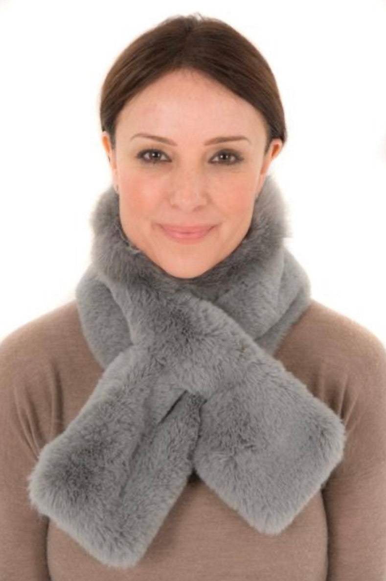 Neck Scarf FB23 Grey