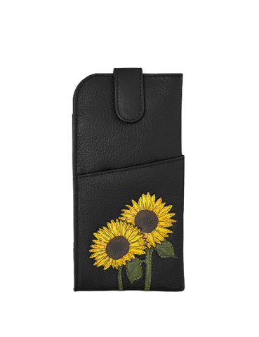 Sunflowers Glasses Case