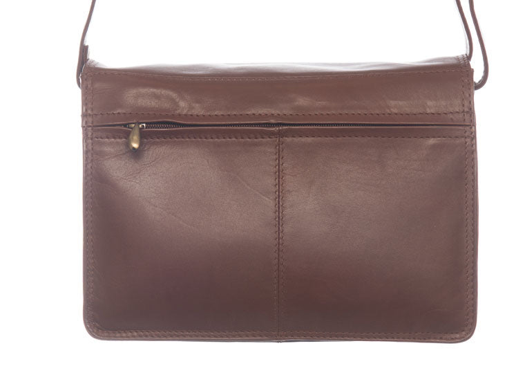 Flapover Organiser Shoulder Bag 0768