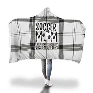 Soccer Mom Hooded Blanket