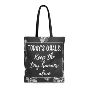 """Today's Goals"" Tote Bag"