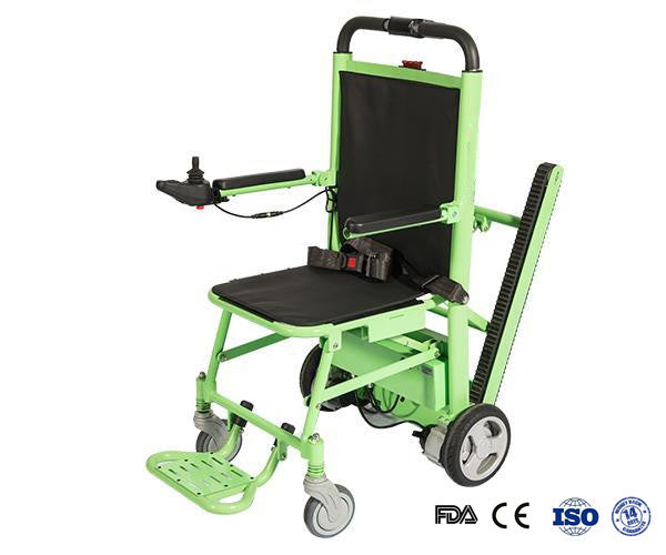 Super Battery Powered Land Driving And Stair-Climbing Wheelchair