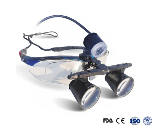 2.5XGalileo Frame Loupe with Headlight FD-501G-2