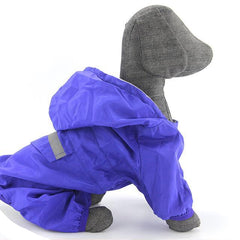 Colored Waterproof Jacket for Small and Large Dogs