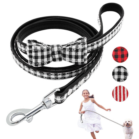 Leash with a Bow