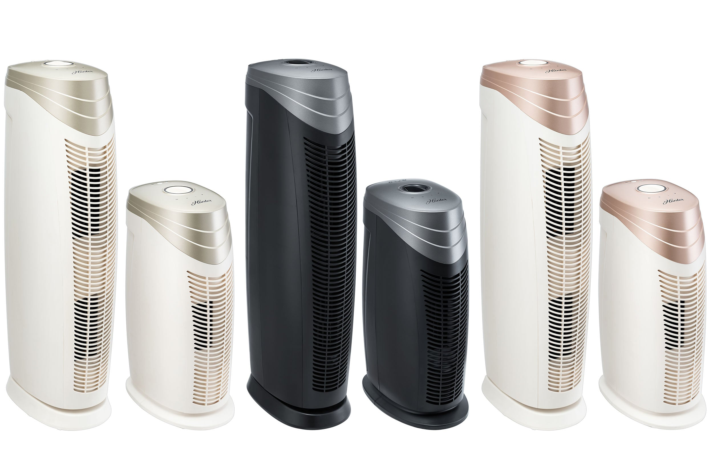 HunterAirPurifier Hunter HEPA+ HT1701 Air Purifier - Titanium & Black