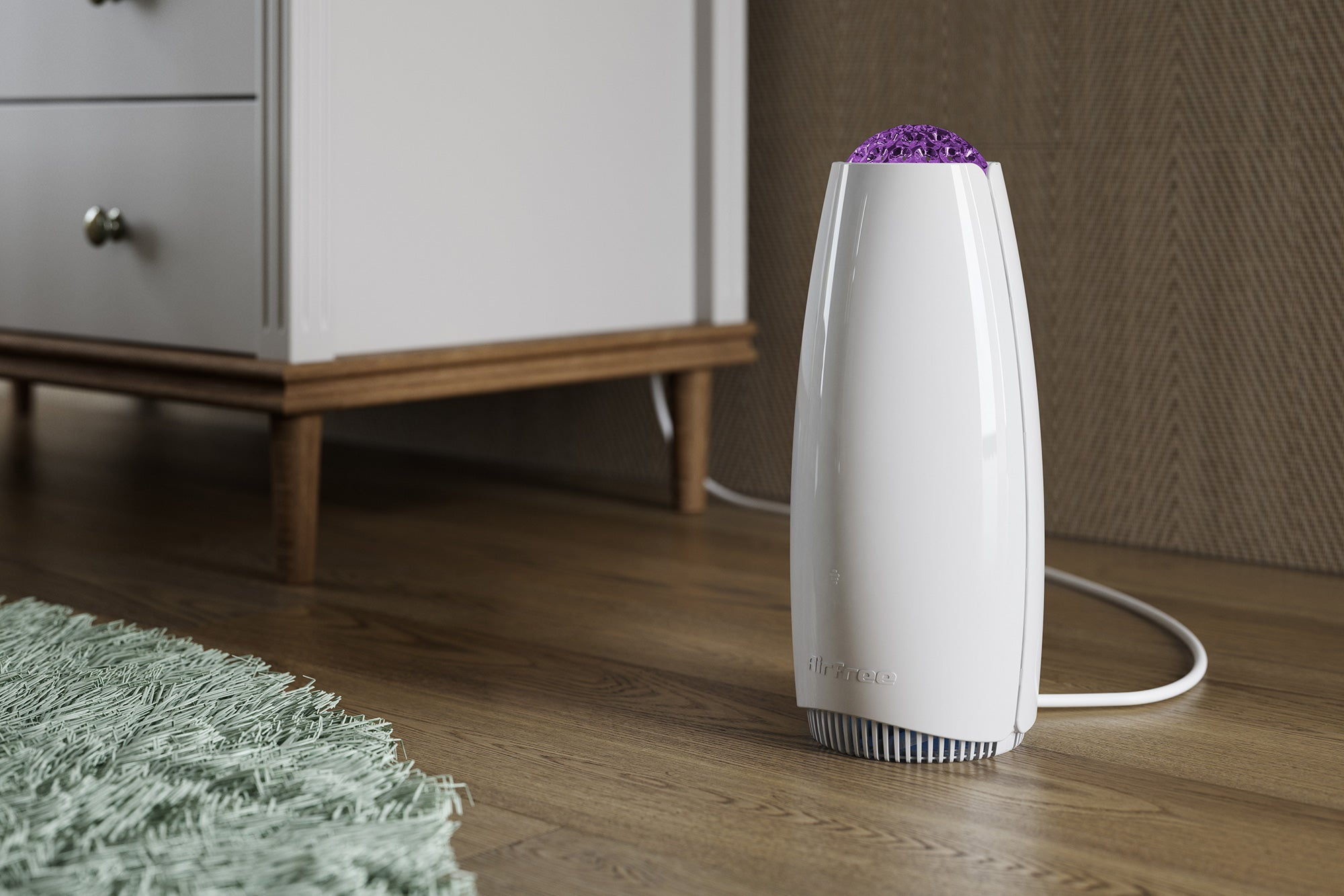AirPurifier AirFree Filterless Tulip 1000 Air Purifier - White