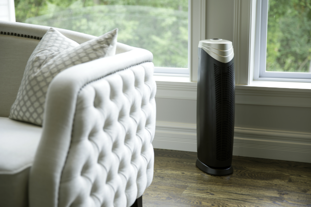 HunterAirPurifier Hunter HEPA+ Air Purifier with ViRo-Silver Technology HT1701 - Gold & Bronze