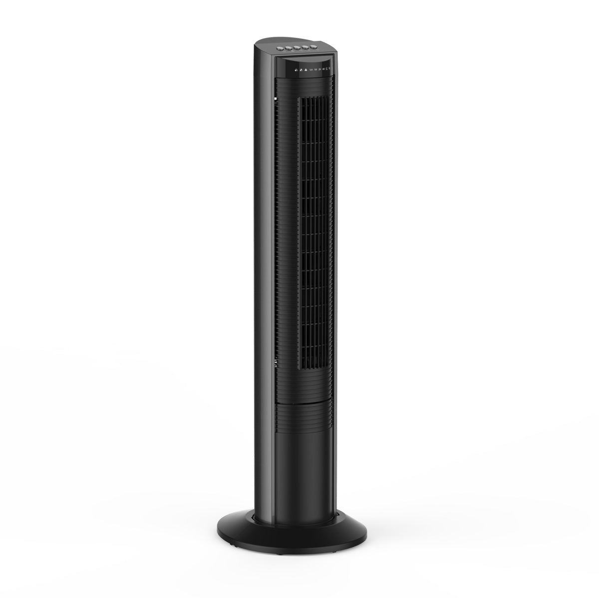 Tower Fan Airvention X02BR Tilting Oscillating Tower Fan - Black