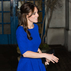 Kate Middleton Bell Sleeve Shift Mini Dress
