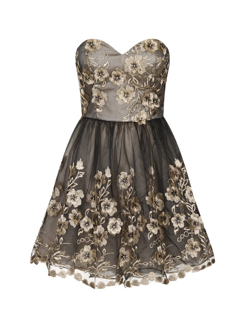 Chi Chi Stephanie Dress - Glitzy Angel
