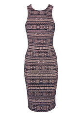 AX Paris Aztec Midi Dress - Party Midi Dresses