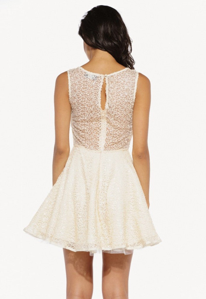 AX Paris Sequin Kick Out Dress - Going Out Dresses - Glitzy Angel