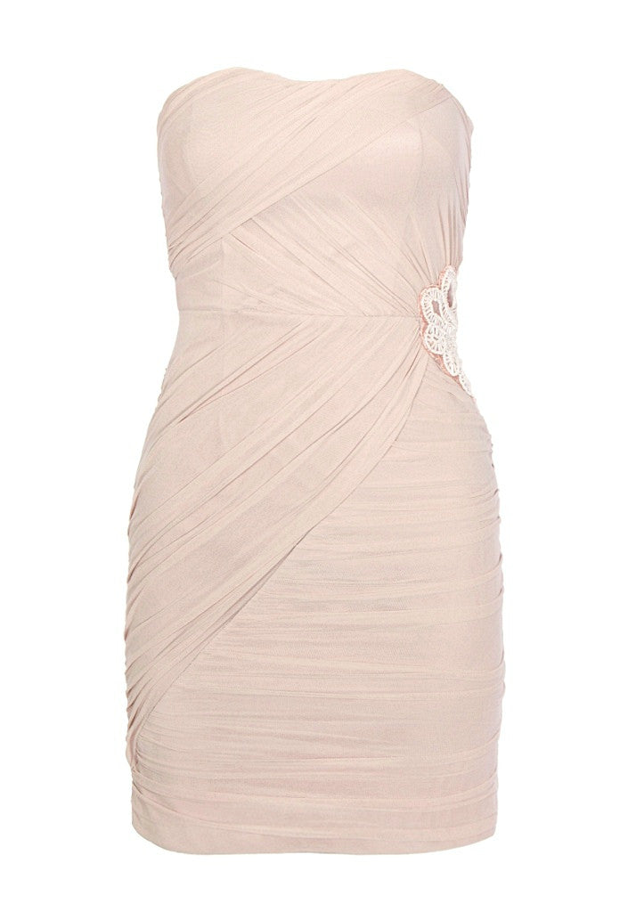 Elise Ryan Bandeau Dress - Party Dresses - Glitzy Angel