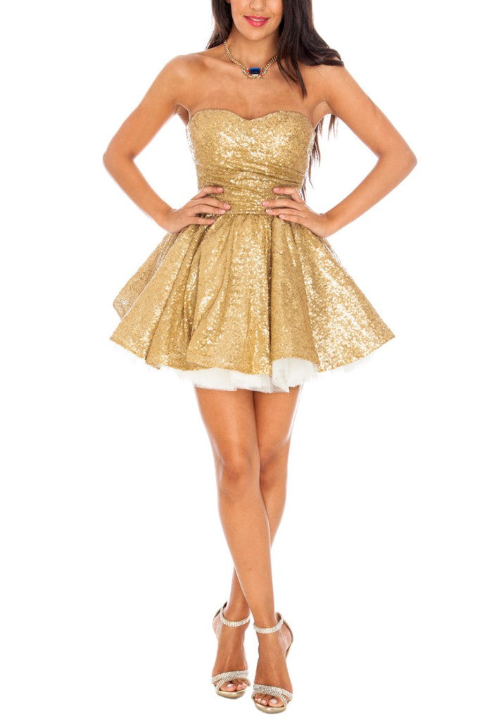 Short Dresses For Going Out - Glitzy Angel