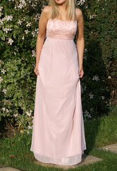 Pink Glitzy Maxi - Dresses for Wedding Guests