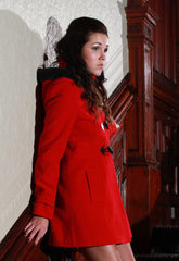 Red Duffle Coat