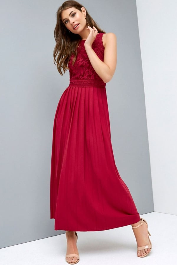 LITTLE MISTRESS BERRY BAROQUE MAXI