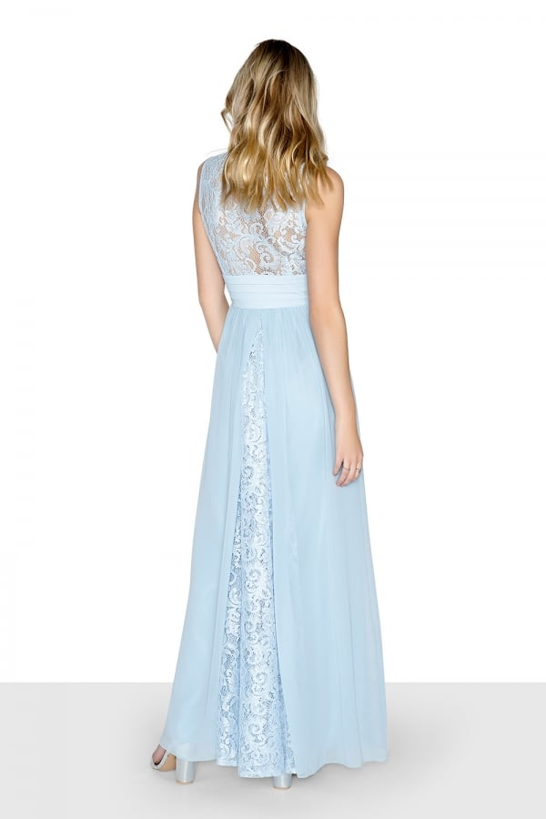 LITTLE MISTRESS BLUE LACE MAXI