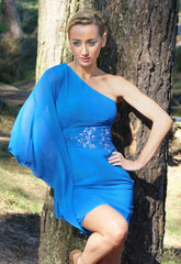 Lipsy For Impulse Very Blue Dress