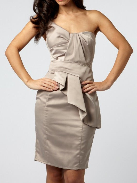 Lipsy Bow Bust Cocktail Dress - Wedding Guest Dresses - Glitzy Angel