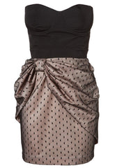 Lipsy Bow Skirt Bustier Dress