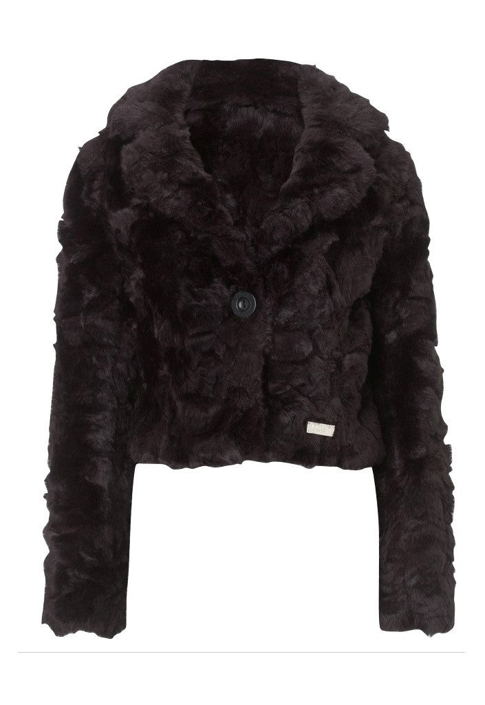 Glitzy Women's Fur Jacket - Glitzy Angel