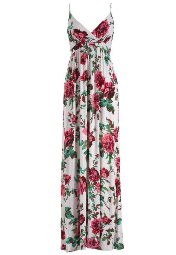 Lipsy Jersey Maxi Dress - Glitzy Angel
