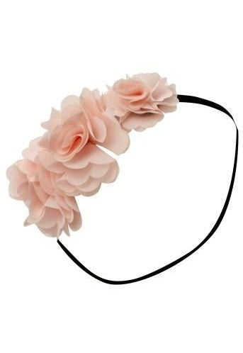 Lipsy Rosette Flower Headband - Glitzy Angel
