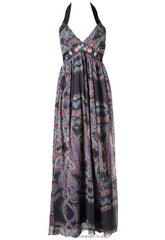 Lipsy Tribal Beaded Maxi Dress