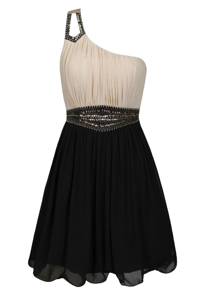 Little Mistress Embellished Party Dress - Glitzy Angel