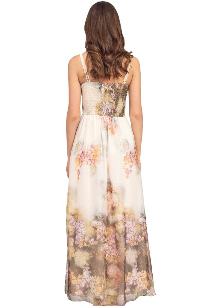 Little Mistress Floral Maxi Dress - Wedding Guest Maxi Dresses - Glitzy Angel