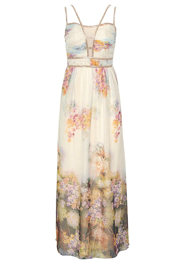 Little Mistress Floral Maxi Dress Wedding Guest Maxi
