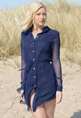 Never Fully Dressed Frank Button Frock Navy