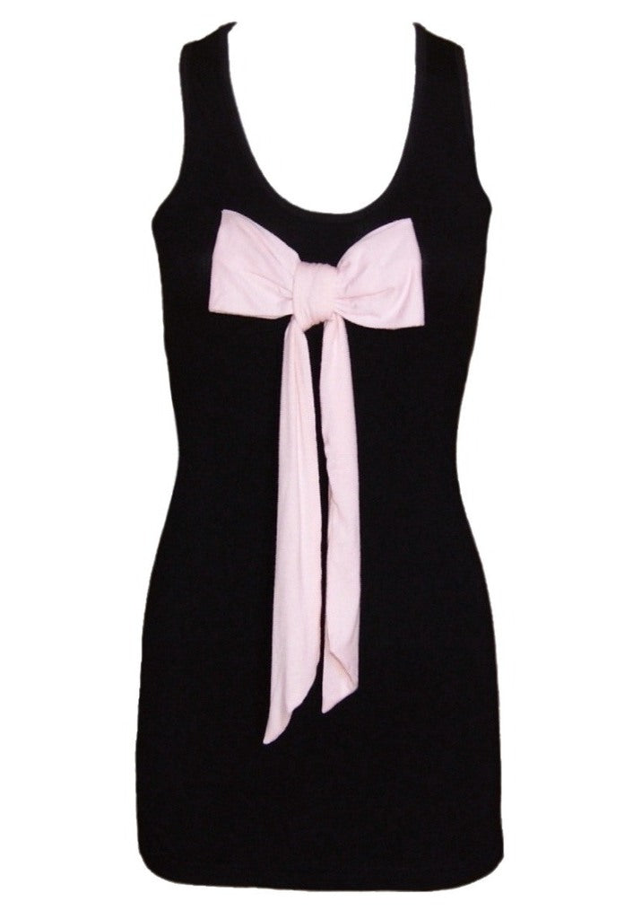 Pink Bow Tunic - Glitzy Angel