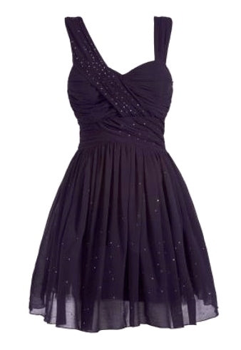 Pixie Chiffon Embellished Prom Dress - Glitzy Angel