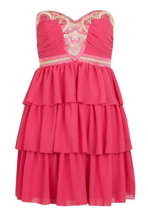 Glitzy Party Dress - Glitzy Angel