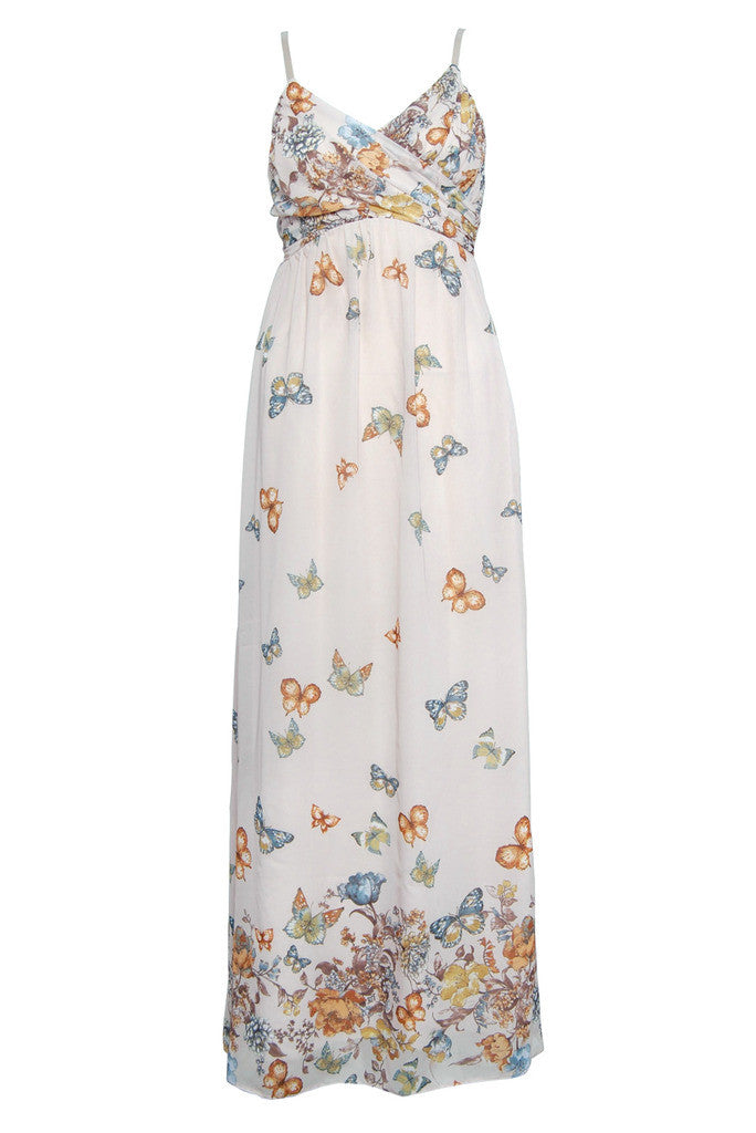 Rare Butterfly Maxi Dress - Glitzy Angel