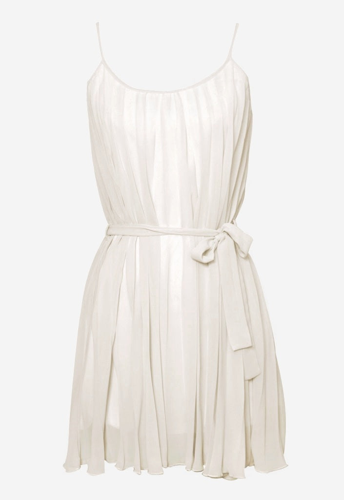 Rare Pleated Dress - Glitzy Angel