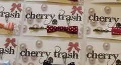 Red Polka Dot Bow Hair Clip