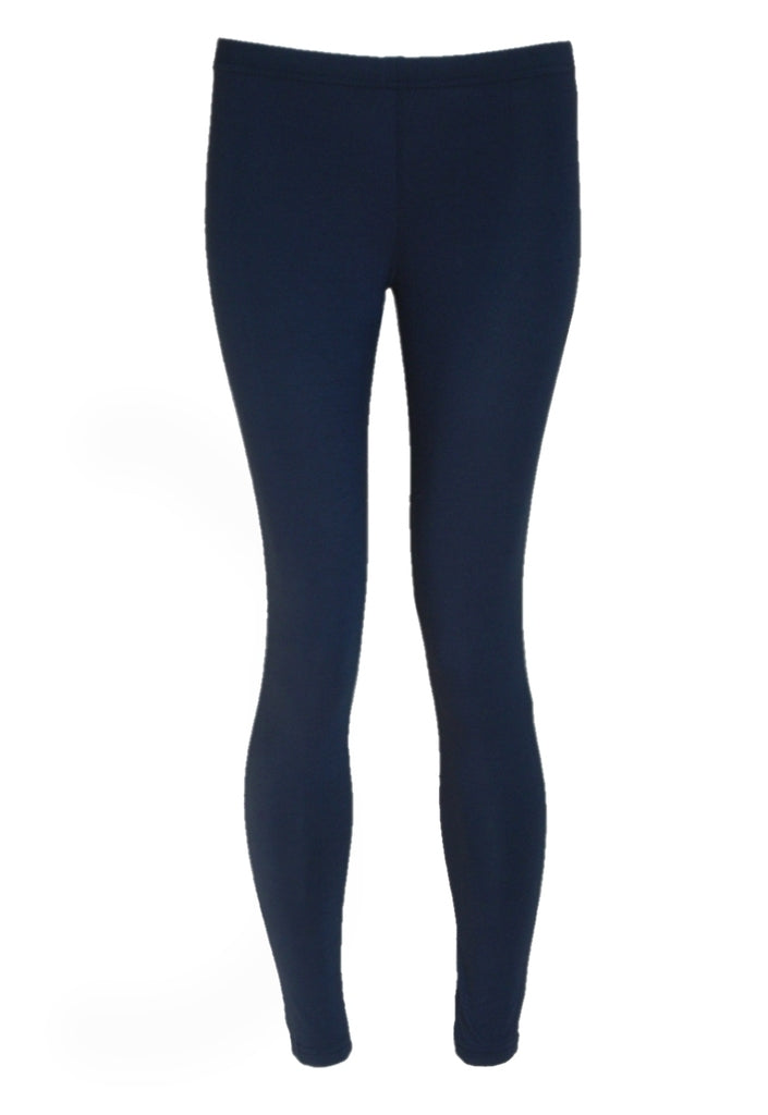Wal G Navy Blue Leggings - Glitzy Angel