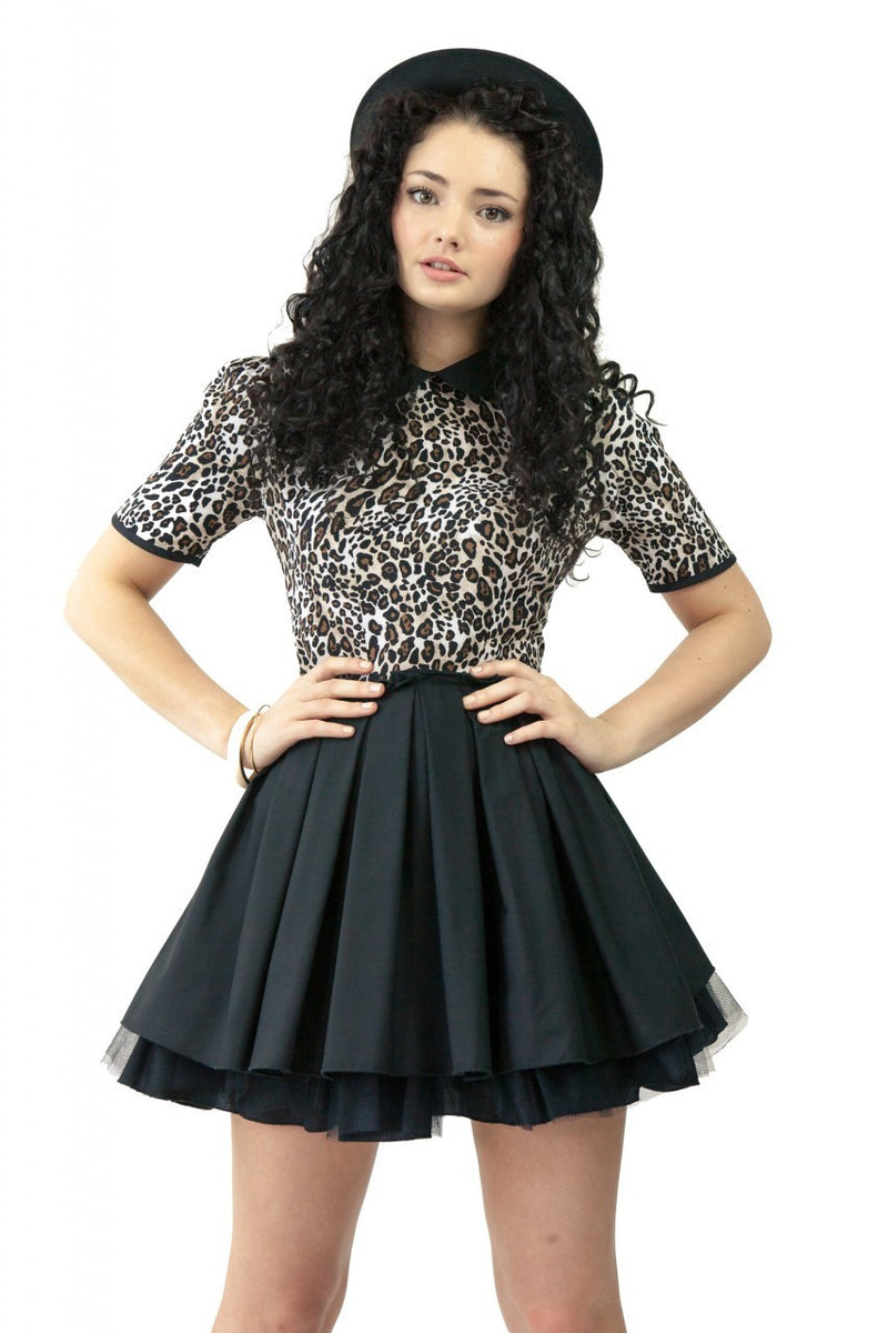 JONES & JONES POPPY LEOPARD DRESS - Glitzy Angel