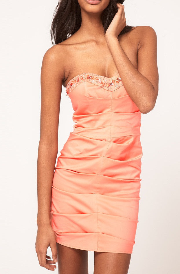 Lipsy Bandeau Dress - Wedding Guest Dresses - Glitzy Angel