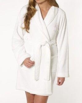 Lipsy Glitzy Angel Model Robe - Glitzy Angel