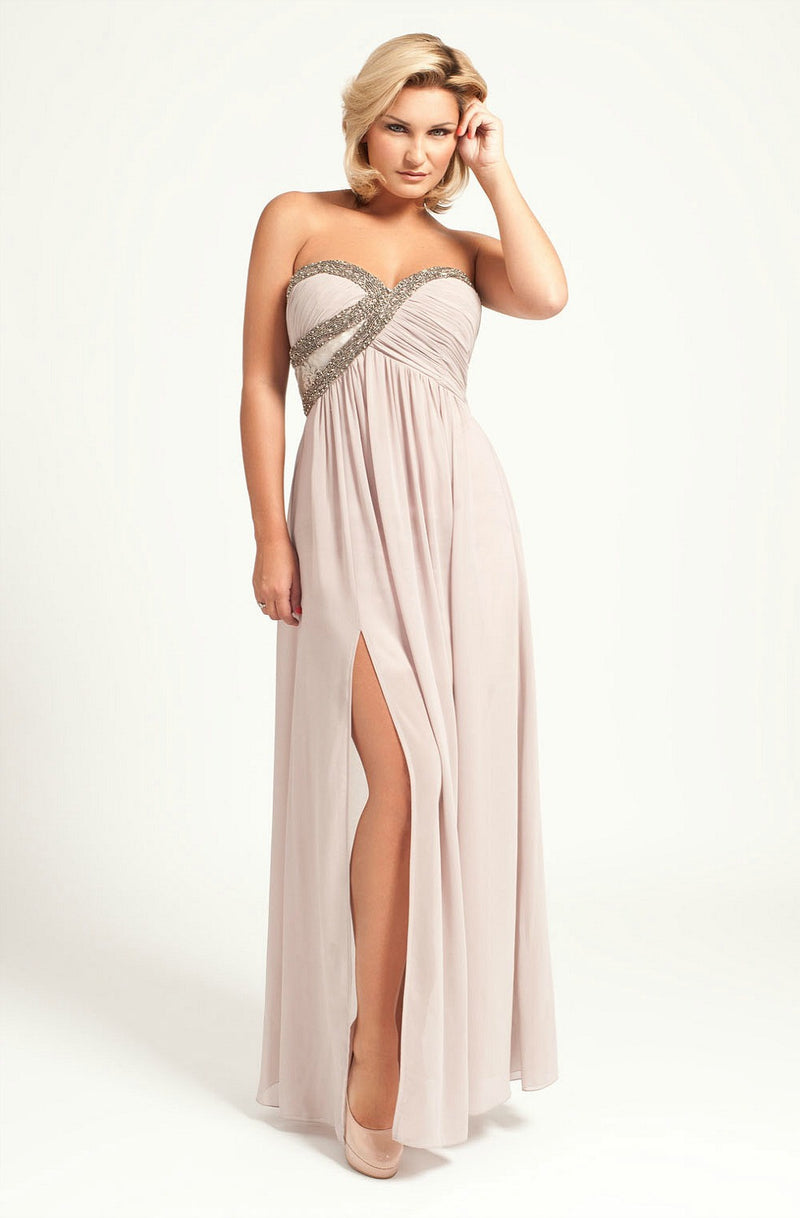 Little Mistress Embellished Maxi Dress - Evening Dresses - Glitzy Angel