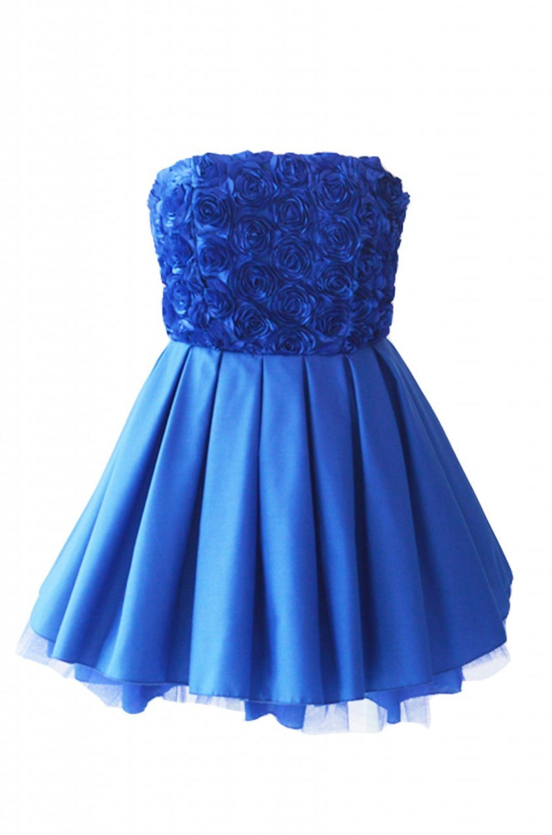 JONES & JONES JASMINE BLUE DRESS - Glitzy Angel